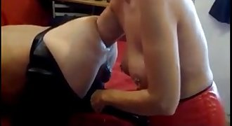 ferza21 wife does amazing arm deep fisting on her man