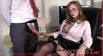 Testing New Office Fucktoy - Mistress T