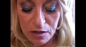 Horny old spunker wishes you were fucking her tasty pussy & tight asshole