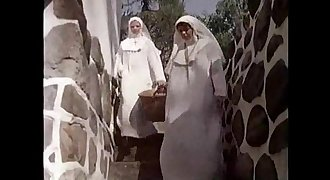 nuns fuck with priest in the woods