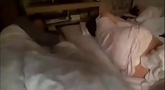 Fucking japanese sleeping mom