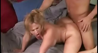 son fucks mom