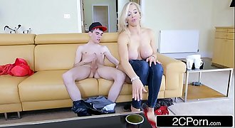 Horny British Mom Rebecca Moore Fucks Her Daughter's Beau Jordi