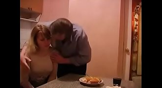 Daughter gives sex to her lonely widowed father